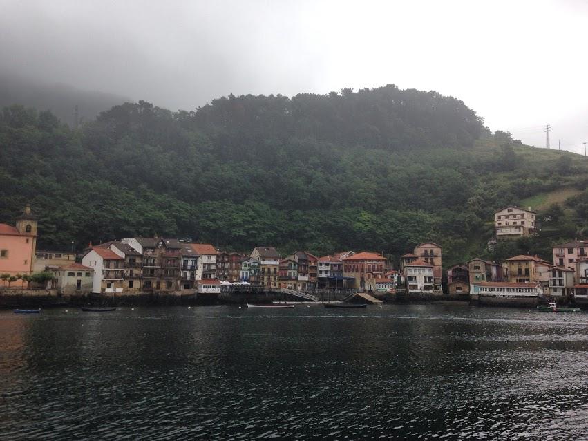 Het Baskische dorpje Pasaia