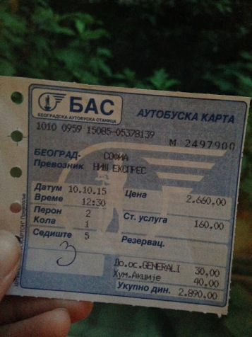 Zonder kaartje mag je niet mee van de buschauffeur