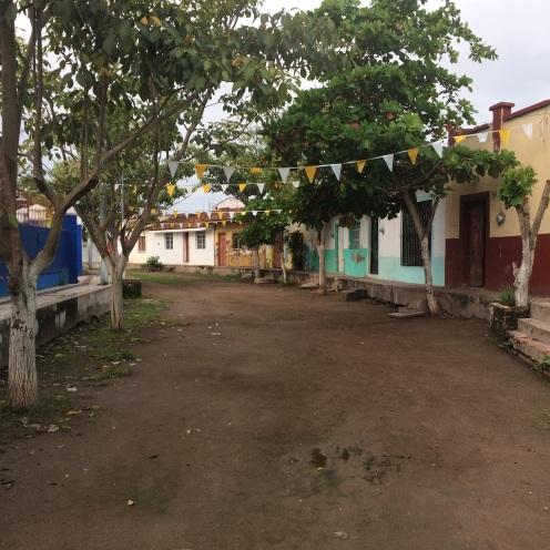 De straten van Mexcaltitan