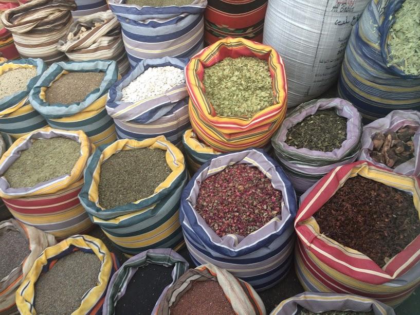 Kruiden en specerijen in Jenin