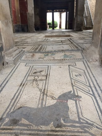 Mozaïken vloer