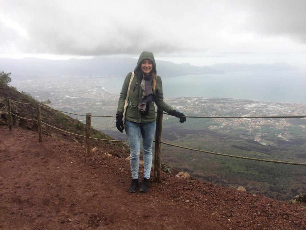 Met uitzicht over de Amalfikust :)