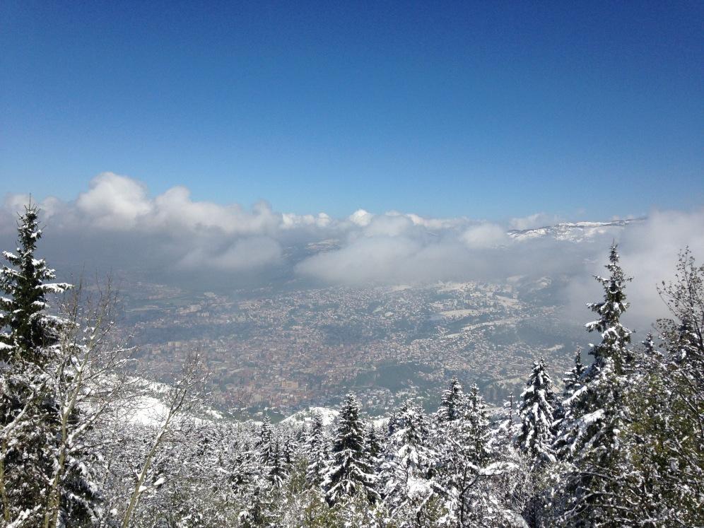 Uitzicht over Sarajevo