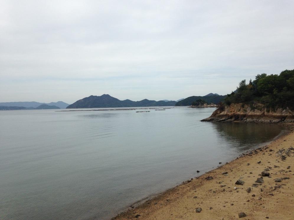 Strand op de eilanden