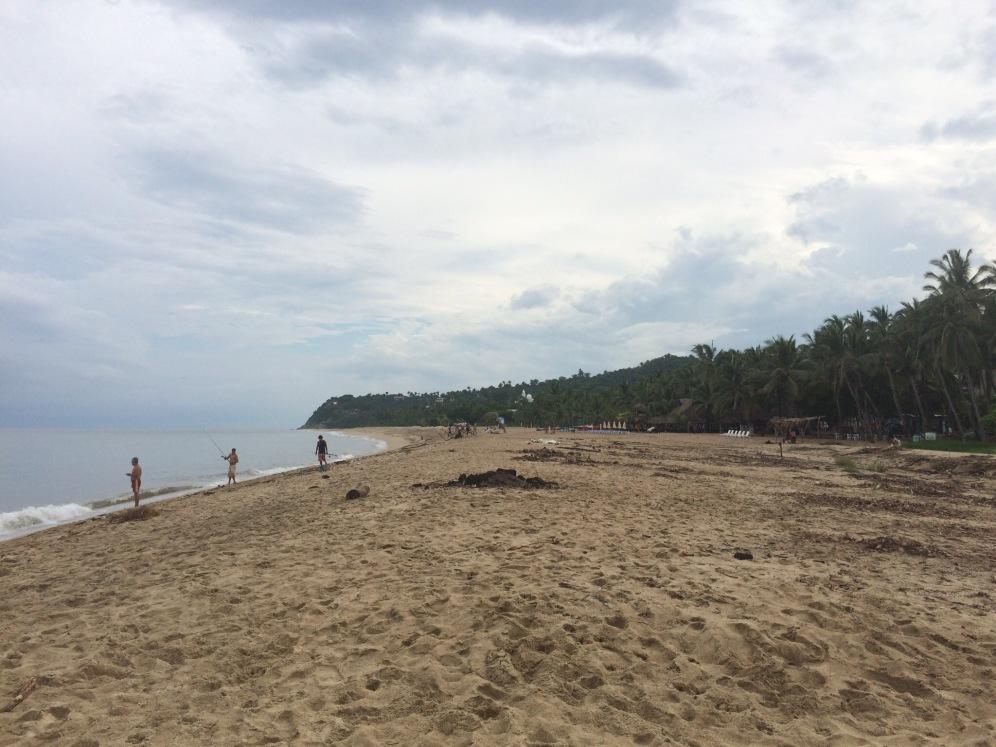 Het 'niet-happy-makende' strand van San Pancho