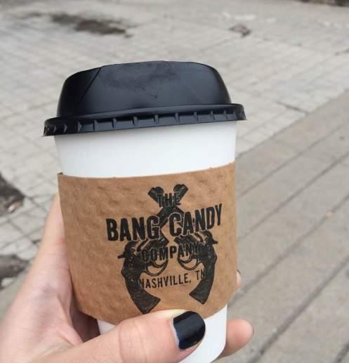 Koffie bij Bang Candy :)