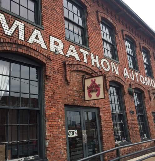 Marathon Automobiles Fabriek