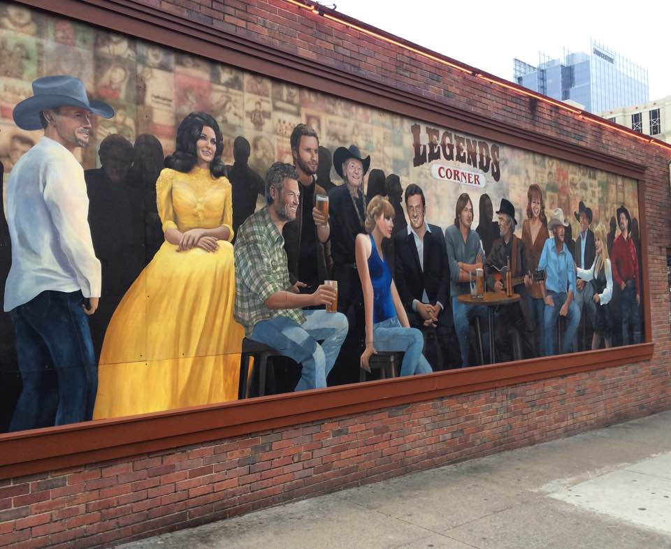 Nashville's Legends corner