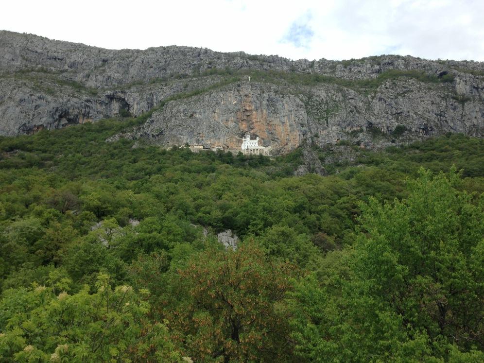 Het Ostrog klooster