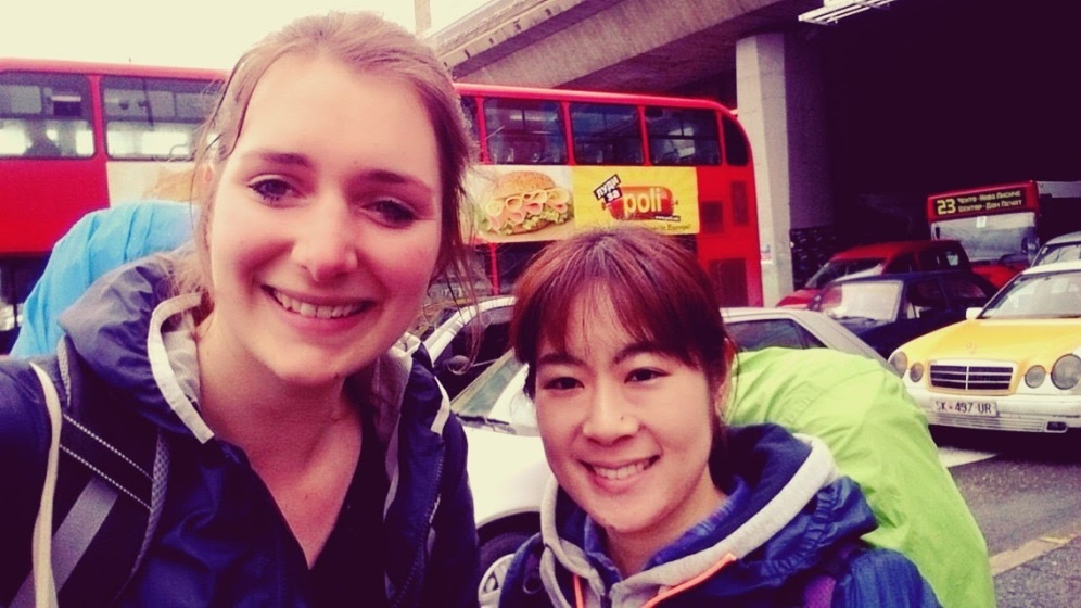 Met Satoko :)