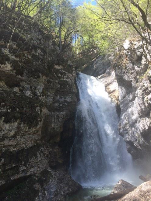 De Mostnica waterval!